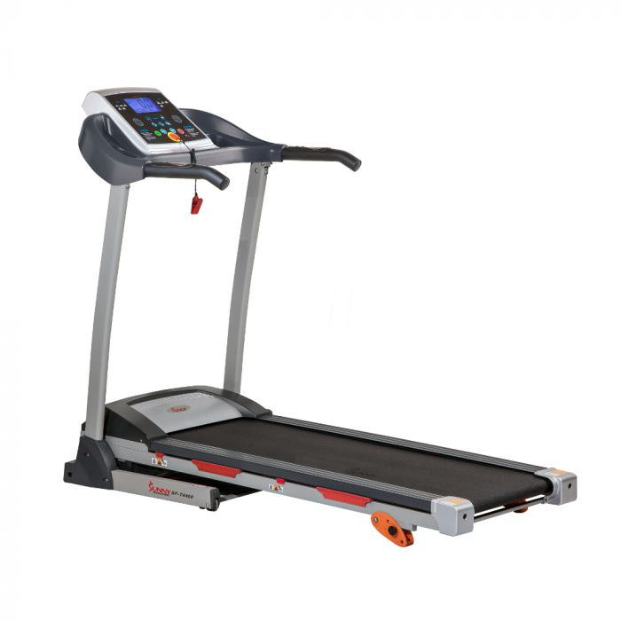 Sunny Treadmill With Manual Incline And Display