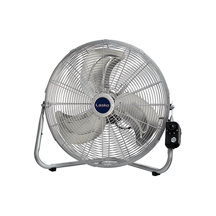 Lasko 20? High Velocity Quickmount - Easily Converts From A Floor Wall Fan - Silver 2265Qm