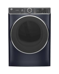 General Electric GFD85ESPNRS GE 7.8 Cu. Ft. 12-Cycle Electric Dryer with Steam - Sapphire Blue