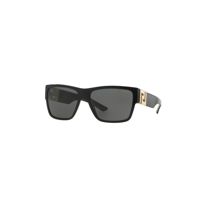 Versace VE4296 Sunglasses - Black / Polarized Grey