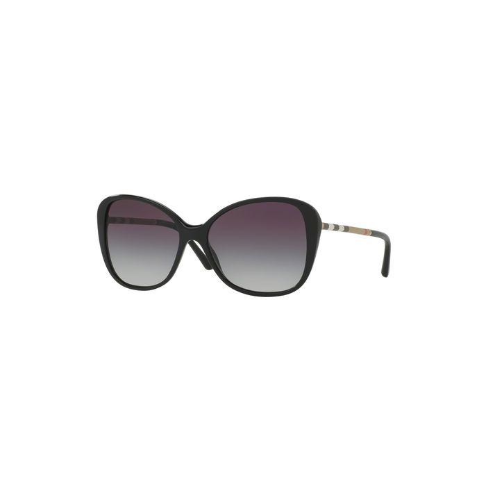 Burberry BE4235Q Sunglasses - Black / Gray Gradient