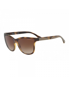 Emporio Armani Women's Sunglasses Butterfly - Havana Brown
