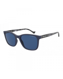 Emporio Armani Men's Sunglasses Square - Matte Blue