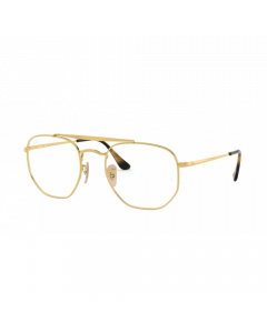 Ray Ban Men's Eyeglasses Square - Gold