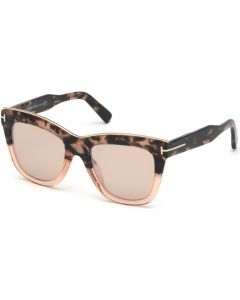 Tom Ford Women's Sunglasses- Havana / Other / Brown Mirror