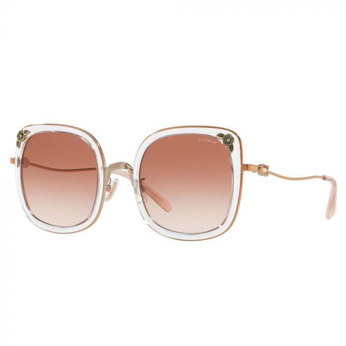 Coach Women's Sunglasses - Shiny Rose Gold/ Pink Gradient
