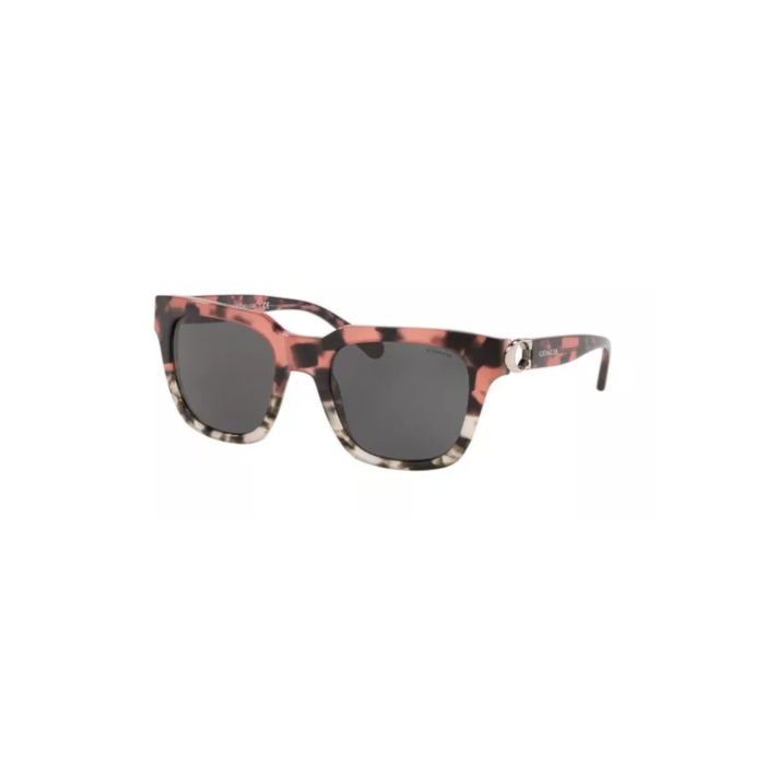 Coach Women's Sunglasses Square - Pink Tortoise Havana