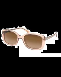 Coach Women's Sunglasses Square - Transparent Champagne