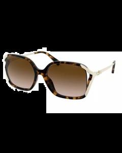 Coach Women's Sunglasses Square - Brown Gradient Polarized/Dark Tortoise