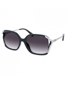Coach Women's Sunglasses Square - Navy Blue/Grey