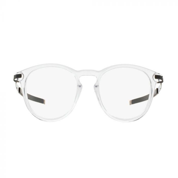 Oakley Men's Eyeglasses Round Acetate - Clear