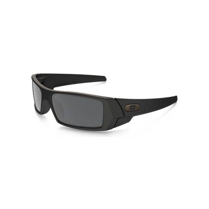 Oakley Gascan Men's Sunglasses - Matte Black / Black Iridium Polarized