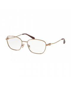 Coach Women's Eyeglasses Rectangle - Shiny Rose Gold