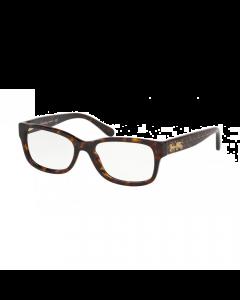 Coach Women's Eyeglasses Rectangle - Dark Tortoise