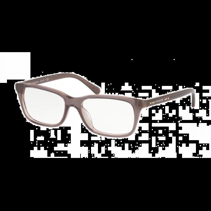Coach Women's Eyeglasses Rectangle - Dirty Lilac/Brown