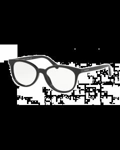 Coach Women's Oval Eyeglasses - Black
