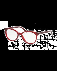 Coach Women's Eyeglasses Oval - Purple/reddish