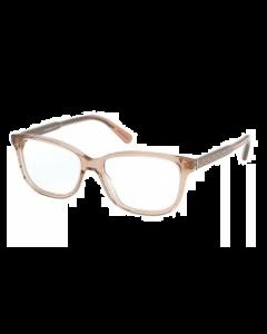 Coach Women's Eyeglasses Square - Transparent Champagne