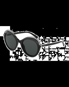 Tiffany Women's Sunglasses Round - Black/Gray