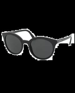 Prada Women's Sunglasses Round - Grey Gradient/Black