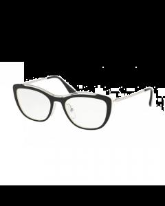 Prada Women's Eyeglasses Conceptual - Black/Ivory