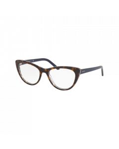 Prada Women's Eyeglasses Cat Eye - Blue/Havana