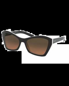 Prada Women's Sunglasses Butterfly - Gradient Brown