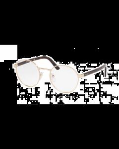 Prada Women's Eyeglasses Round - Gold