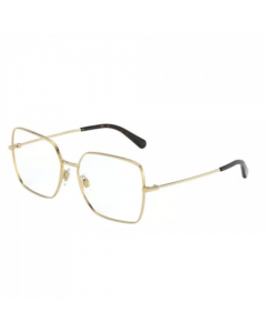 Dolce & Gabbana Women's Eyeglasses Square - Gold