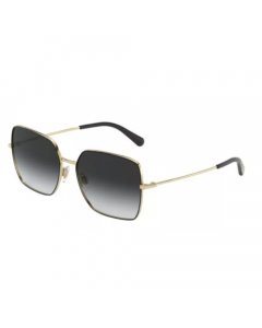 Dolce & Gabbana Women's Sunglasses Square - Gold Black