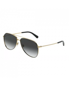 Dolce & Gabbana Women's Sunglasses Pilot - Grey Gradient/ Gold
