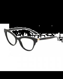 Dolce & Gabbana Women's Eyeglasses Butterfly - Black/Black