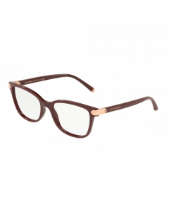 Dolce & Gabbana Women's Eyeglasses Butterfly - Bordeaux