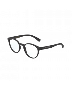 Dolce & Gabbana Men's Eyeglasses Round - Matte Black