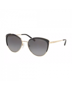 Michael Kors Women's Sunglasses Biscayne - Black/Light Gold