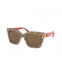 Michael Kors Women's Sunglasses Berkshires - Brown Leopard