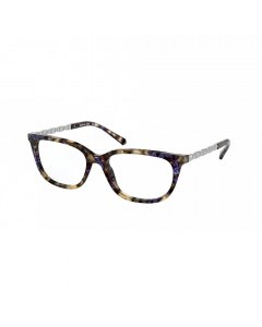 Michael Kors Women's Eyeglasses Mexico City - Blue Fleck