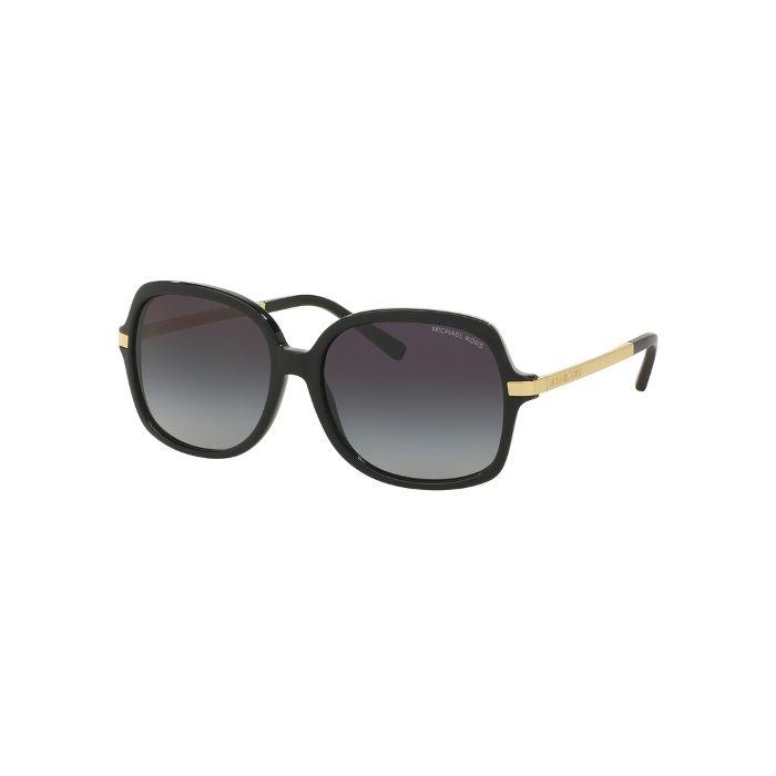 Michael Kors Women's Adrianna II Sunglasses - Black/Light Grey Gradient