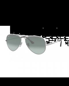 Ray Ban Unisex Sunglasses Pilot - Silver Gradient