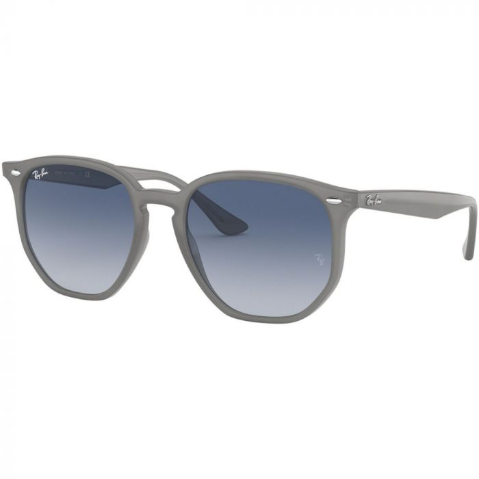 Ray Ban Unisex Sunglasses- Opal Grey/ Grey Gradient Dark Blue