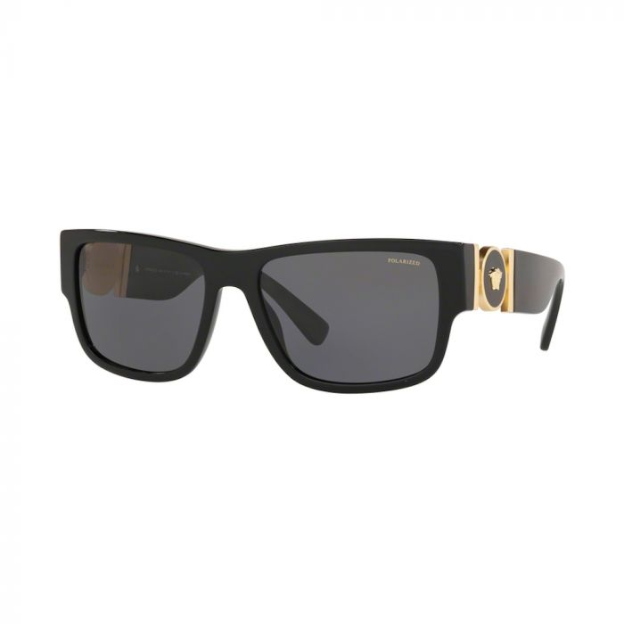 Versace Men's Sunglasses - Black/ Polar Grey