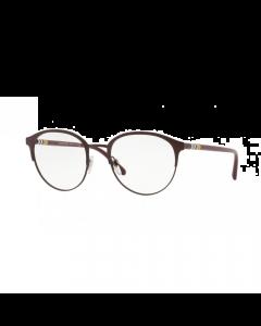 Burberry Men's Eyeglasses Oval - Matte Bordeaux