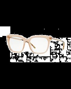 Burberry Women's Eyeglasses Square - Transparent Brown