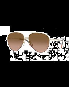 Burberry Women's Sunglasses Pilot - Light Gold/Brown Gradient