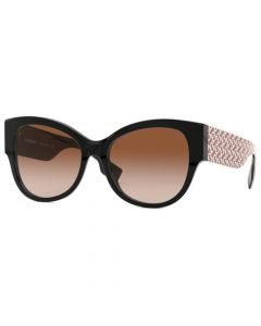 Burberry Women's Butterfly Sunglasses- Black/Red/Brown Gradient