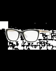 Versace Women's Cat Eye Eyeglasses - Dark Black