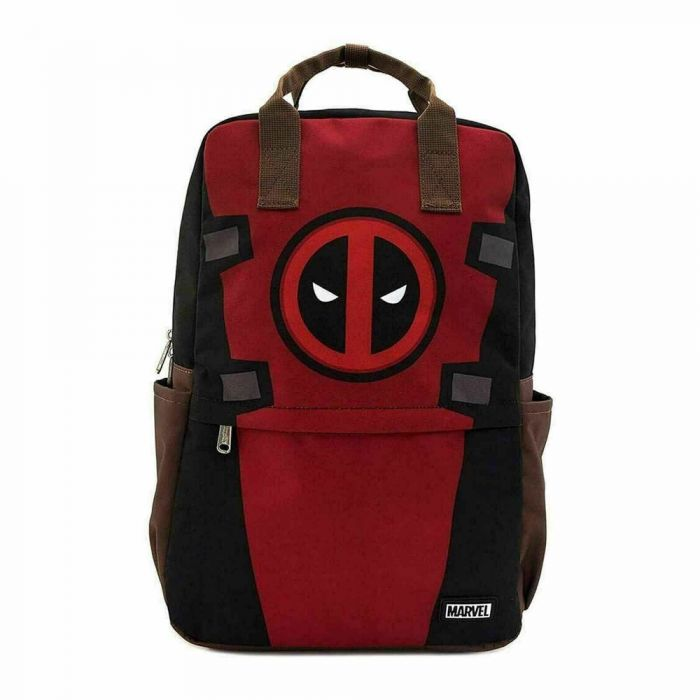 Deadpool Cosplay Square Nylon Backpack