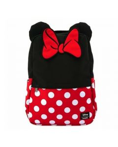 Minnie Mouse Cosplay Square Nylon Backpack