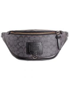 Coach Rivington Ladies Small Leather Belt Bag - Black