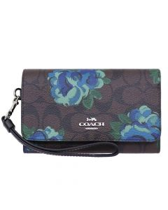 Coach Women's Wallet Multi - Brown /Black